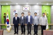 시, 한국기계연구원 찾아 소·부·장 분야 경쟁력 강화 논의