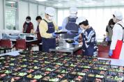 시장, 코로나19 대응기관 방문 급식봉사 동행