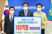 NH농협은행 코로나19 특별출연금 7억 원 기탁